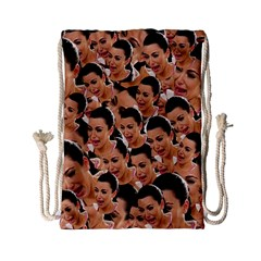 Crying Kim Kardashian Drawstring Bag (small)