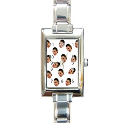 Crying Kim Kardashian Rectangle Italian Charm Watch