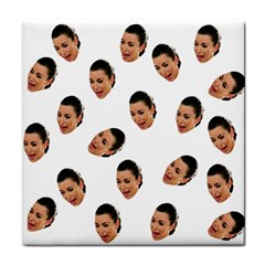 Crying Kim Kardashian Tile Coasters