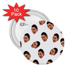 Crying Kim Kardashian 2 25  Buttons (10 Pack)
