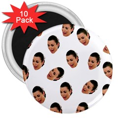Crying Kim Kardashian 3  Magnets (10 Pack)