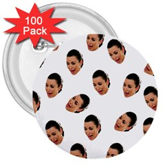Crying Kim Kardashian 3  Buttons (100 Pack)