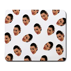 Crying Kim Kardashian Large Mousepads