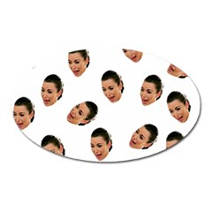Crying Kim Kardashian Oval Magnet