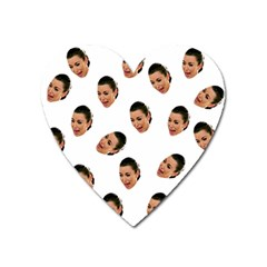 Crying Kim Kardashian Heart Magnet