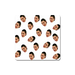 Crying Kim Kardashian Square Magnet