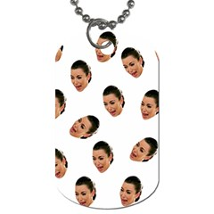 Crying Kim Kardashian Dog Tag (two Sides)