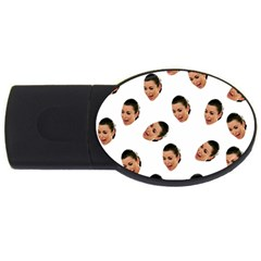 Crying Kim Kardashian Usb Flash Drive Oval (2 Gb)