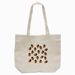 Crying Kim Kardashian Tote Bag (cream)