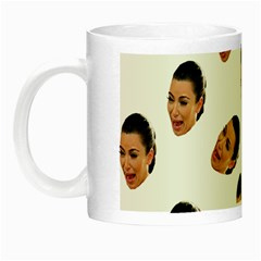 Crying Kim Kardashian Night Luminous Mugs