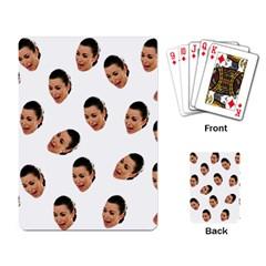 Crying Kim Kardashian Playing Card