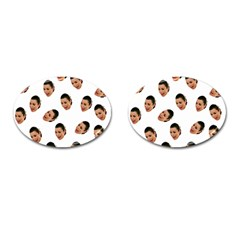 Crying Kim Kardashian Cufflinks (oval)