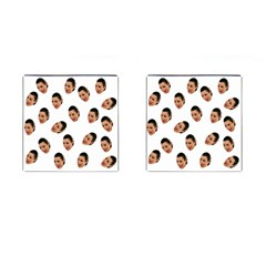 Crying Kim Kardashian Cufflinks (square)