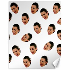 Crying Kim Kardashian Canvas 18  X 24