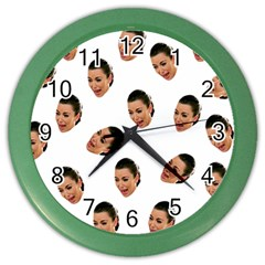 Crying Kim Kardashian Color Wall Clocks