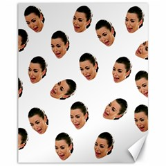 Crying Kim Kardashian Canvas 11  X 14