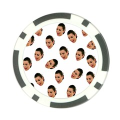 Crying Kim Kardashian Poker Chip Card Guard
