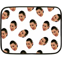 Crying Kim Kardashian Fleece Blanket (mini)