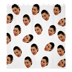 Crying Kim Kardashian Shower Curtain 66  X 72  (large)