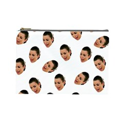 Crying Kim Kardashian Cosmetic Bag (large)