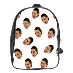 Crying Kim Kardashian School Bag (large)