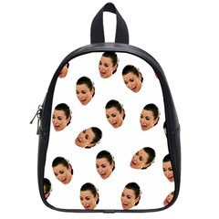 Crying Kim Kardashian School Bag (small)