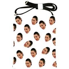 Crying Kim Kardashian Shoulder Sling Bags by Valentinaart