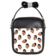 Crying Kim Kardashian Girls Sling Bags