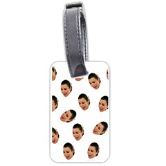 Crying Kim Kardashian Luggage Tags (one Side)