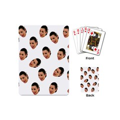 Crying Kim Kardashian Playing Cards (mini)