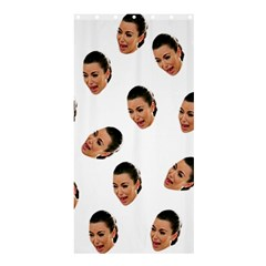 Crying Kim Kardashian Shower Curtain 36  X 72  (stall)