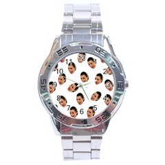 Crying Kim Kardashian Stainless Steel Analogue Watch