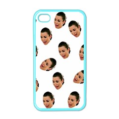 Crying Kim Kardashian Apple Iphone 4 Case (color)