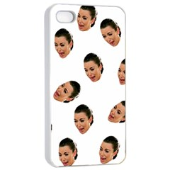 Crying Kim Kardashian Apple Iphone 4/4s Seamless Case (white)