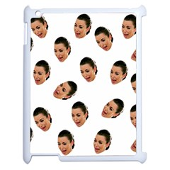 Crying Kim Kardashian Apple Ipad 2 Case (white)