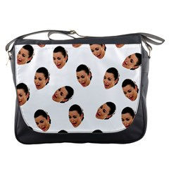 Crying Kim Kardashian Messenger Bags