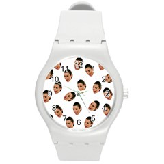 Crying Kim Kardashian Round Plastic Sport Watch (m)