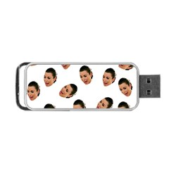 Crying Kim Kardashian Portable Usb Flash (one Side)