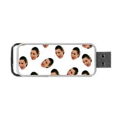 Crying Kim Kardashian Portable Usb Flash (two Sides)
