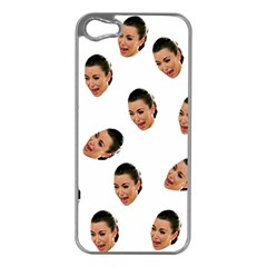 Crying Kim Kardashian Apple Iphone 5 Case (silver)