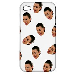 Crying Kim Kardashian Apple Iphone 4/4s Hardshell Case (pc+silicone)