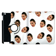 Crying Kim Kardashian Apple Ipad 2 Flip 360 Case
