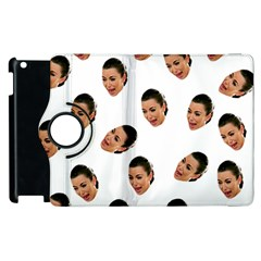 Crying Kim Kardashian Apple Ipad 3/4 Flip 360 Case