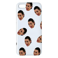 Crying Kim Kardashian Apple Iphone 5 Premium Hardshell Case