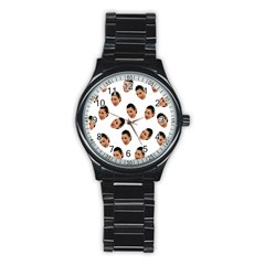 Crying Kim Kardashian Stainless Steel Round Watch