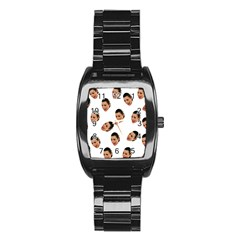 Crying Kim Kardashian Stainless Steel Barrel Watch