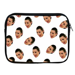 Crying Kim Kardashian Apple Ipad 2/3/4 Zipper Cases