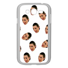 Crying Kim Kardashian Samsung Galaxy Grand Duos I9082 Case (white)