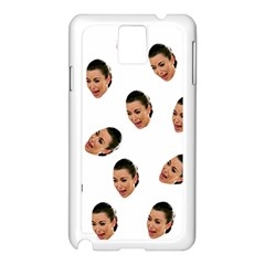 Crying Kim Kardashian Samsung Galaxy Note 3 N9005 Case (white)