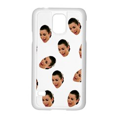 Crying Kim Kardashian Samsung Galaxy S5 Case (white)